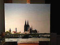Ölmalerei, Gemälde, Köln, Realismus