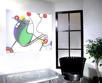 Bunt, Design, Glas, Glasdesign