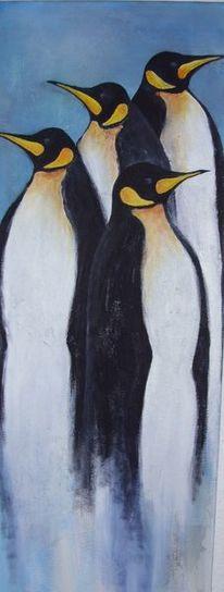 Struktur, Tiere, Acrylmalerei, Malerei