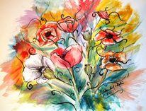 Freude, Blüte, Lebensenergie, Blumen