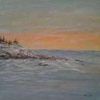 Wasser, Acrylmalerei, Malerei, Natur