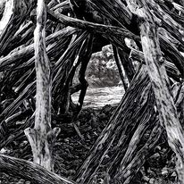 Digitale kunst, Weg zur fantasie, Landschaft, Pfad