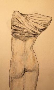Zeichnung, Tusche, Koloriert, Zeichnungen