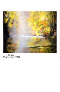 Wasser, Malerei, Baum, Ölmalerei
