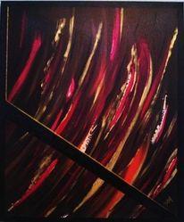 Malerei, Feuer, Flut