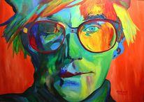 Abstrakt, Andy warhol, Malerei,