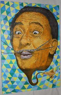 Salvador dalí, Lampe, Malerei
