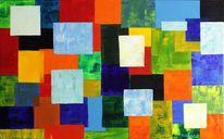 Parade, Quadrat, Farben, Malerei