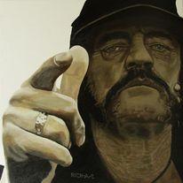 Motörhead, Lemmy kilmister, Malerei