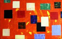 Wärme pixel, Malerei, Wärme, Pixel