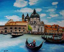 Kunstwelt, Malerei, Venedig, Landschaft