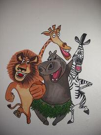 Madagaskar, Malerei