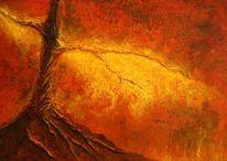 Rot, Inferno, Feuer, Glut
