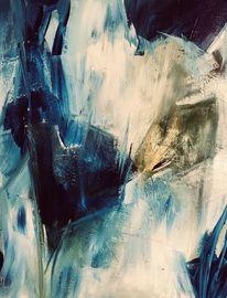 Kälte, Wind, Eis, Malerei