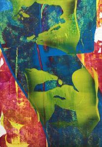 Abstrakt, Spiel, Fantasie, Malerei