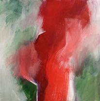 Schatten, Abstrakt, Rot, Malerei