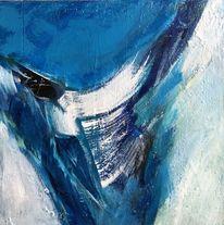 Wasser, Sturz, Kalt ?, Malerei