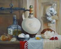 Malerei, Weiß, Gemälde, Ölmalerei