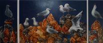 Gemälde, Malerei, Natur, Ölmalerei