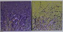 Violett, Abstrakt, Modern, Lavendel