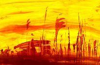 Abstrakt, Zeitlos, Ausdruck, Malerei