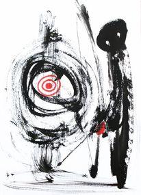 Ziel, Abstrakt, Malerei, Leben