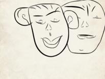 Zeichnung, Gefühl, Ausgleich, Gedankenwelt