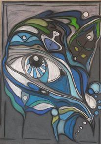 Abstrakt, Fantasie, Augen, Gestaltung