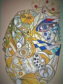 Fantasie, Gesicht, Wortlos, Abstrakt