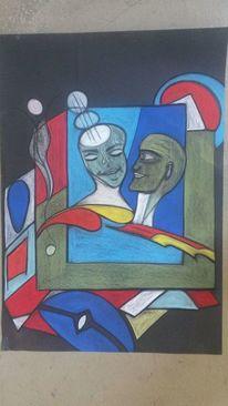 Fantasie, Kopf, Abstrakt, Gesicht