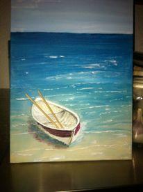 Acrylmalerei, Malerei, Strand