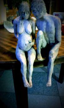 Figural, Kunsthandwerk, Mann