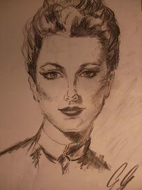 Zeichnungen, Dame