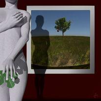 Pseudorealistisch, 3d, Schatten, Blender
