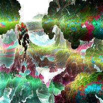 3d, Fraktalkunst, Digital, Mandelbulb
