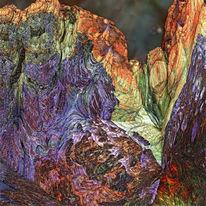 Digital, Berge, Mandelbulb, Fraktalkunst