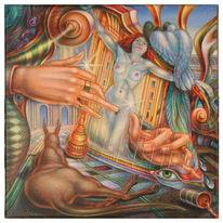 Phantastischer realismus, Phantastische malerei, Malerei