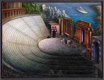 Surreal, Natur, Architektur, Phantastischer realismus