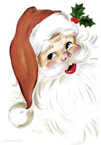 Rot, Geschenk, Dezember, Weihnachtsmann