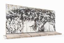 Geschichte, Politische kunst, Berliner mauer, Kinder