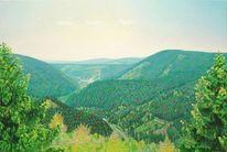 Felsturm, Malerei, Harz, Himmel