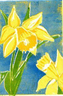 Frühling, Narzissen, Osterglocken, Blumen