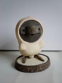 Skulptur, Figur, Eule, Plastik