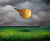 Gemälde, Landschaft, Himmel, Surreal