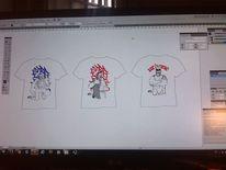 Illustrationen, Wips, Shirt, Design