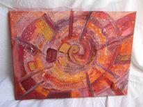 Wissen, Farben, Weisheit, Acrylmalerei