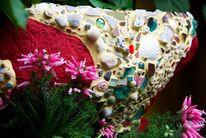 Brunnen mosaik garten, Kunsthandwerk, Brunnen