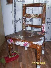 Malen, Malerei, Stuhl, Kunsthandwerk