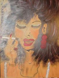 Rauchen, Besinnlichkeit, Reiz, Weiblichkeit