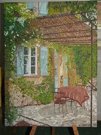 Malerei, Ölmalerei, Idylle